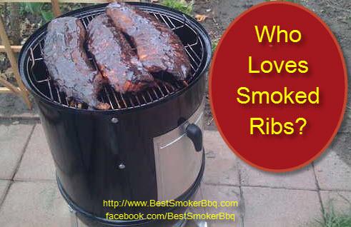 Who Loves Smoked Ribs