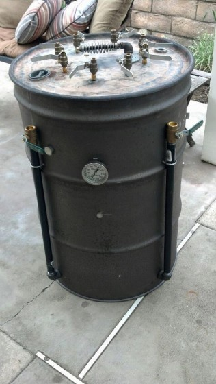 vertical drum smoker shane greedy 39 s brand spanking new. Black Bedroom Furniture Sets. Home Design Ideas