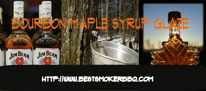 Bourbon Maple Syrup Glaze