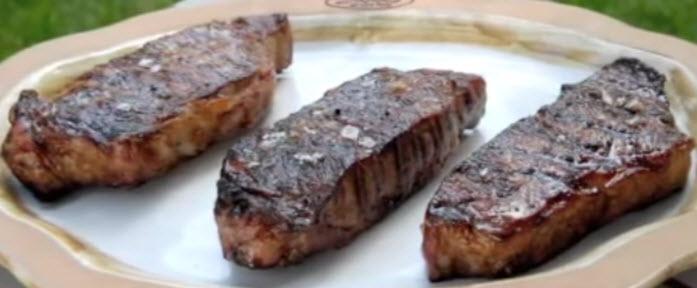 Finished Grilled Steak