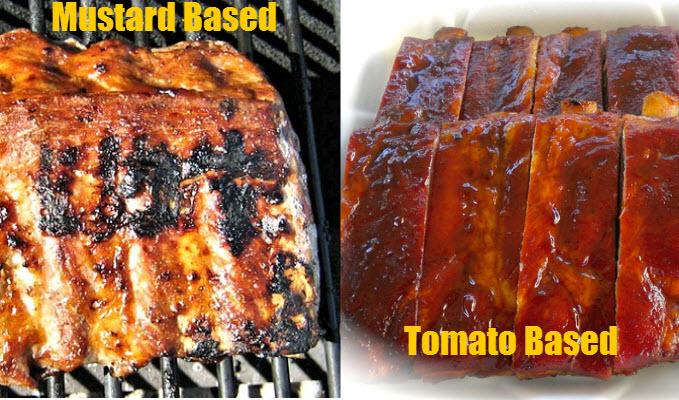 Mustard or Tomato BBQ Sauce